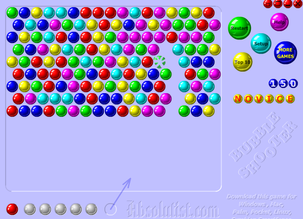 bubble shooter gratis online